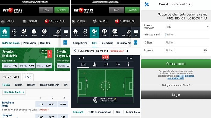 Download di BetStars Android App per il tuo Smartphone