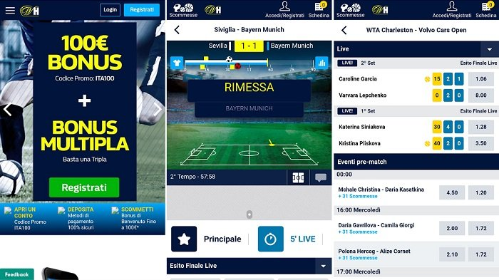 William Hill app recensione, commenti e opinione