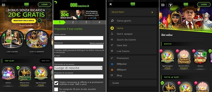 888 Casino App For Android