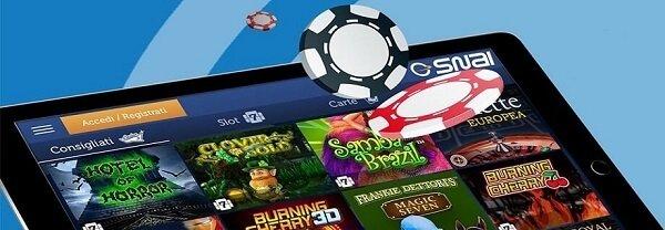 Guida al Casino SNAI app