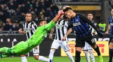 Udinese – Inter Serie A 22° Giornata