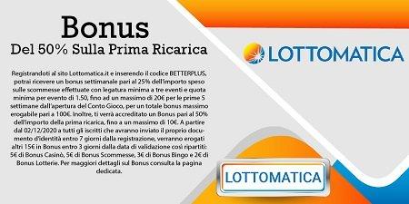 Lottomatica scommesse gratis